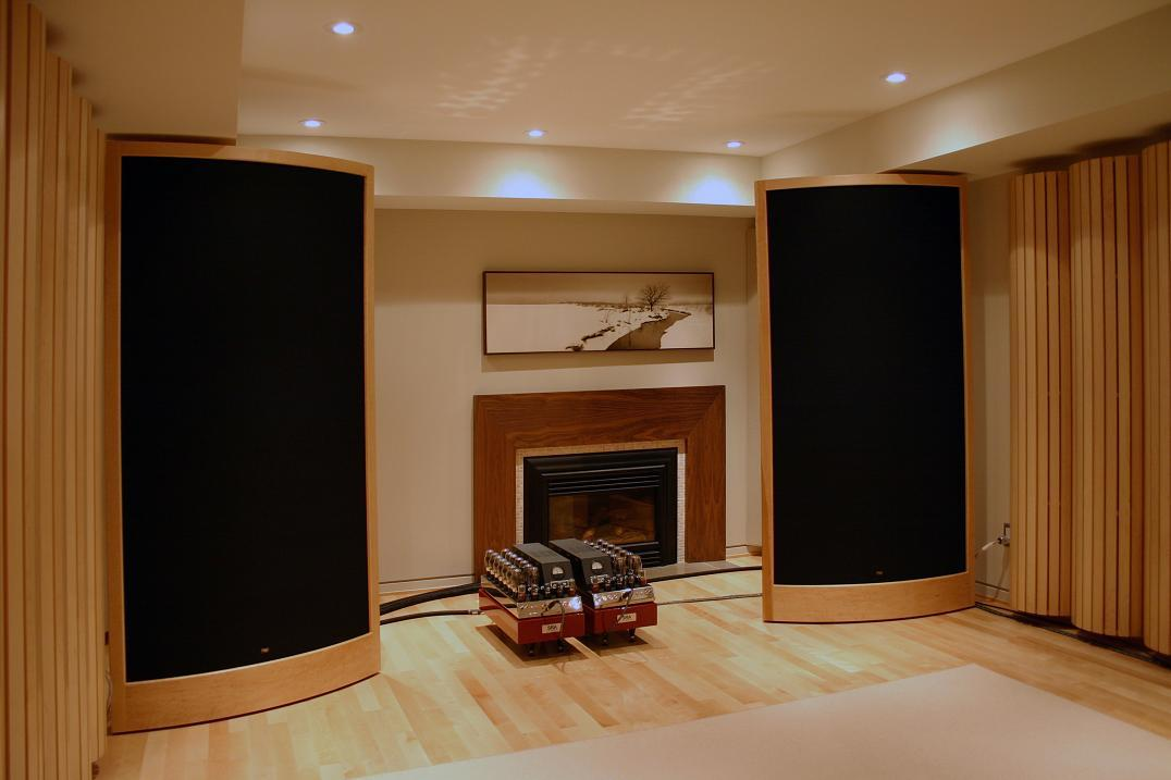 Sound Lab A-1PX speakers