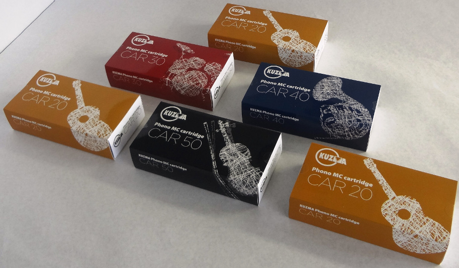 Kuzma CAR cartridges packaging
