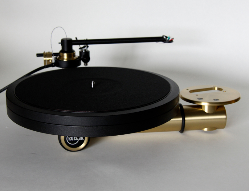 Kuzma Stabi SD in brass with double platter