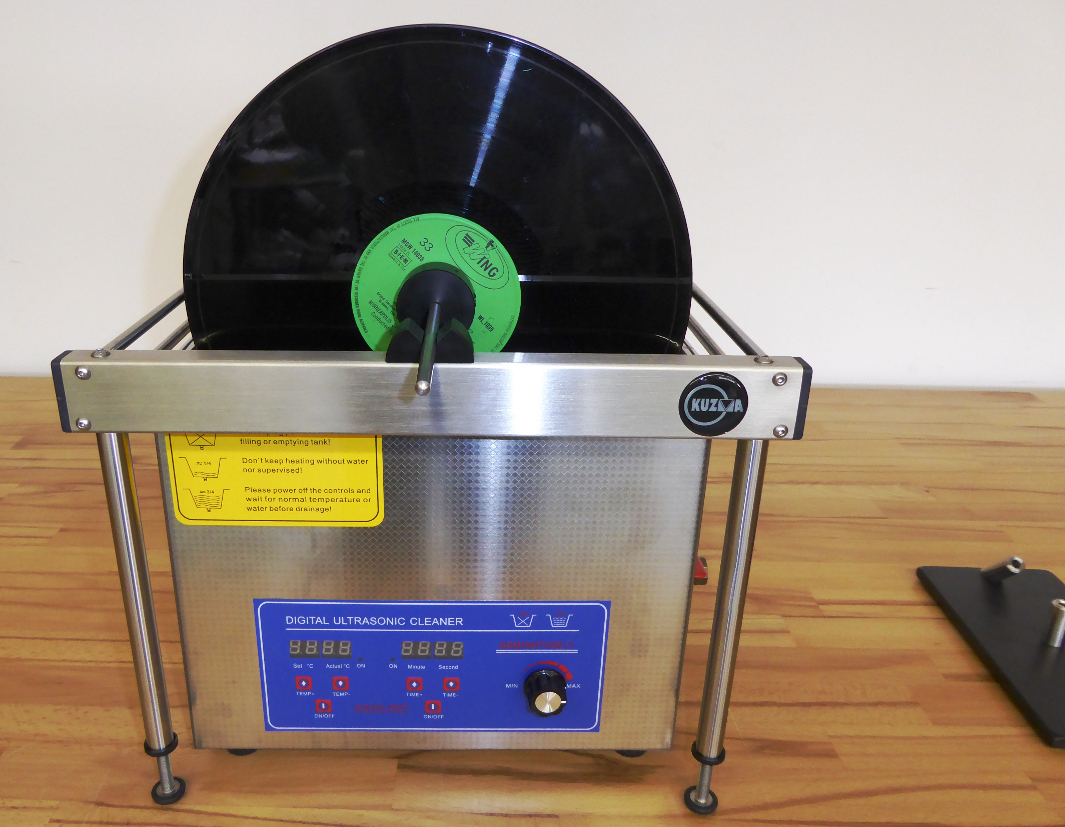 ultrasonic LP cleaning kit